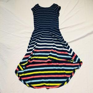b7622aaf Tommy Hilfiger Dresses - Tommy Hilfiger Yarn Dye Engineer High-Low Dress